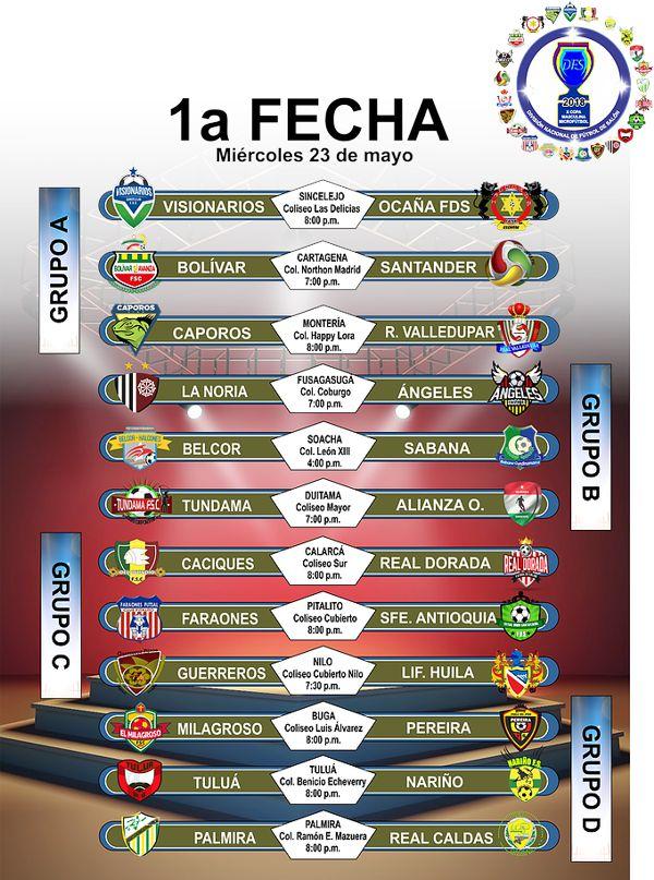 1 FECHA Copa Profesional