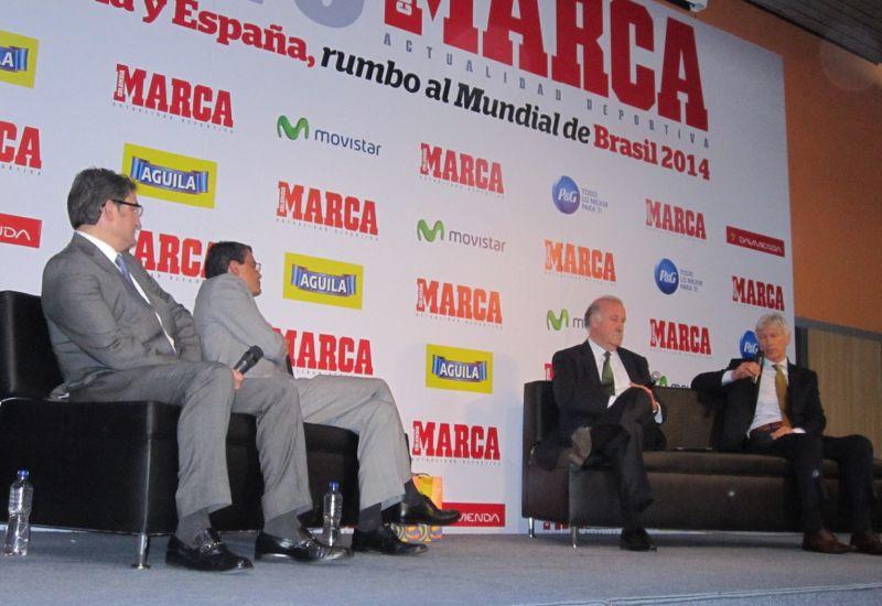 """FORO MARCA """"COLOMBIA, Y ESPAÑA RUMBO AL MUNDIAL DE BRASIL 2014"""
