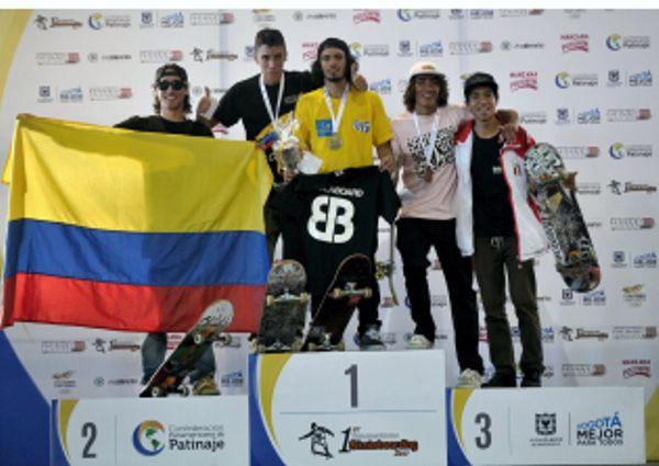 3 platas y 1 bronce en Panamericano Skateboarding