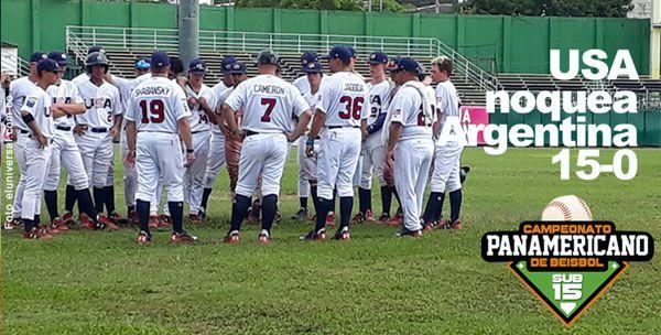 4 jornada panamericano sub 15 beisbol