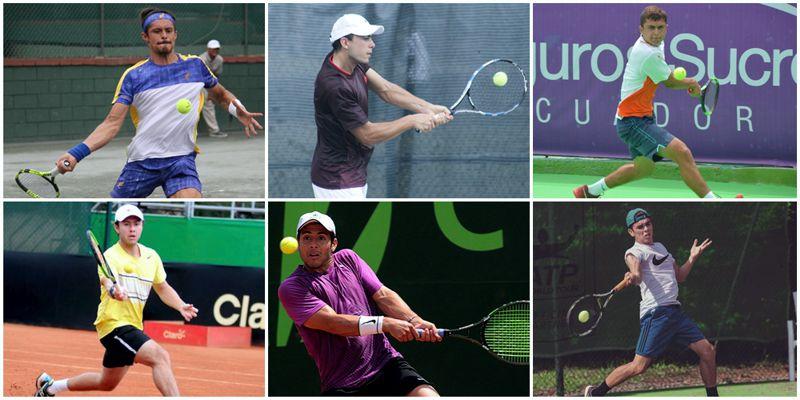 6 jugadores con puntos ATP