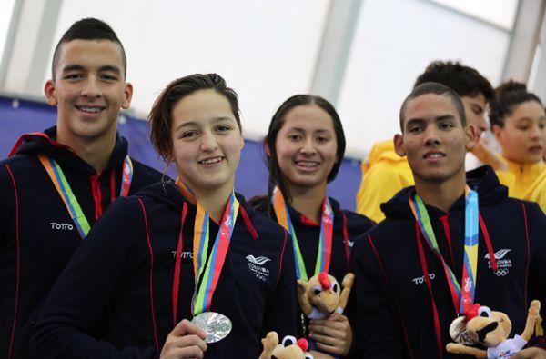 9 medallas en suramericanos