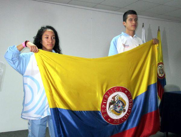 Abanderados Juegos Escolares Deportivos Centroamericanos y del Caribe