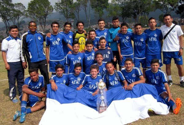 Academia Iguarán Campeón Copa Simón Bolivar