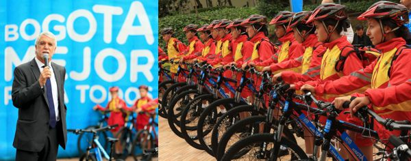 Alcaldia renueva imagen ciclovia entrega bici