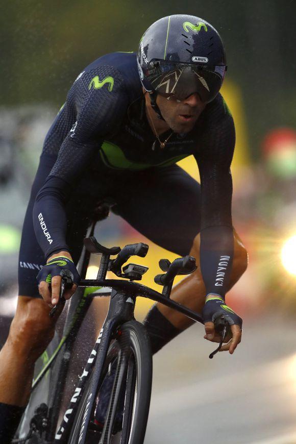 Alejandro Valverde 2 fracturas