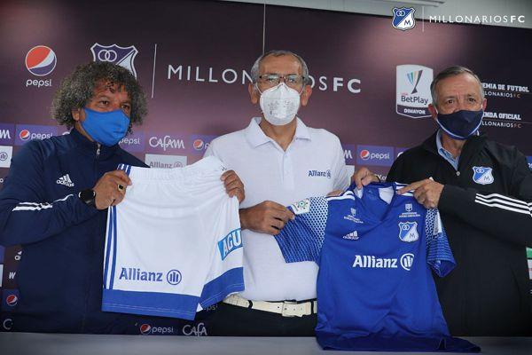 ALLIANZ COLOMBIA, NUEVO PATROCINADOR DE MILLONARIOS FC
