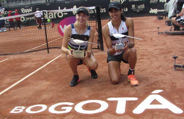 Amanda y Sherma campeona y subcampeona claro open 2019