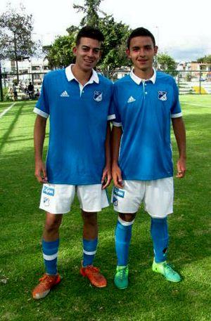 Anderson Jhan y Andrés Delgado