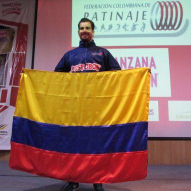 Andrés Felipe Muñoz abanderado