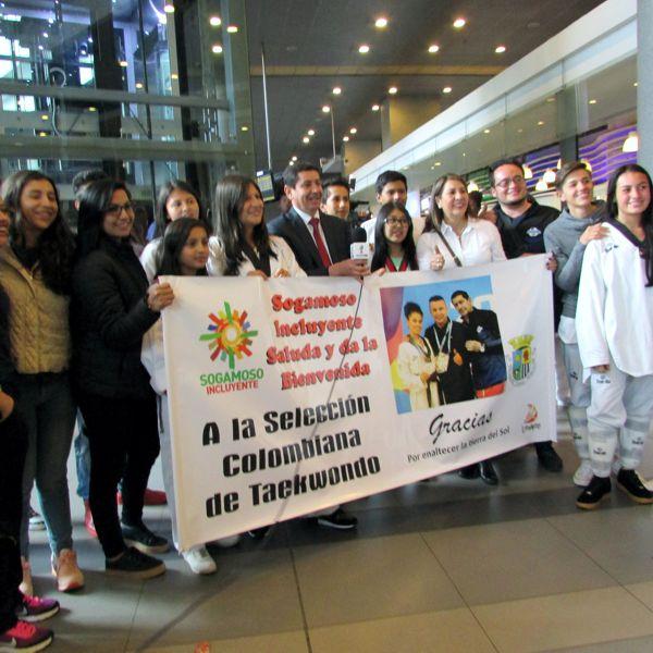 Andrea Ramírez llegó a Bogotá
