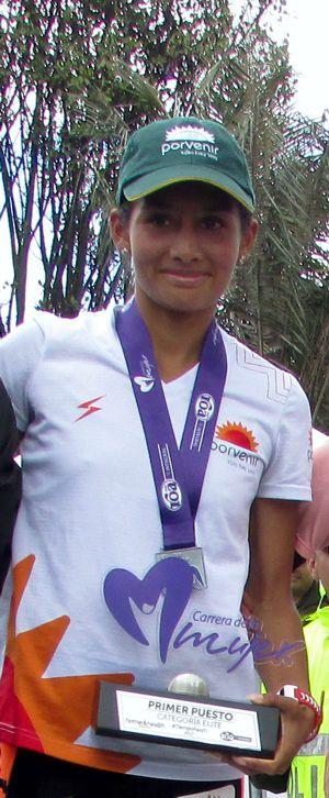 Angie Orjuela 2017 Carrera Mujer 11