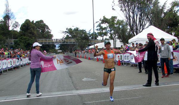 Angie Orjuela Gano Carrera Mujer 2017