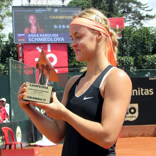 Anna-Karolina Schmiedlova campeona Claro Open 2018