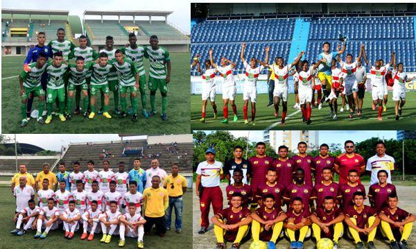Antioquia Bolivar Atlantico y Tolima