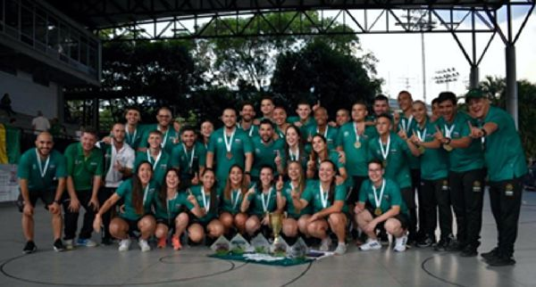 Antioquia Campeon Interligas Hockey 2019