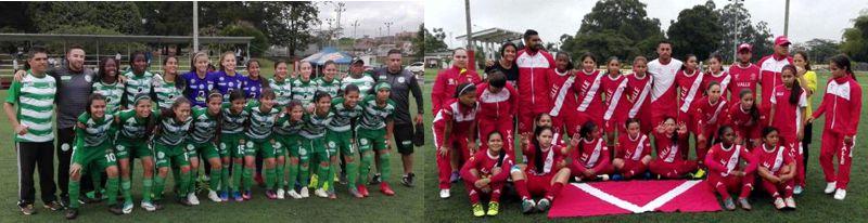 Antioquia y Valle femenino lideres