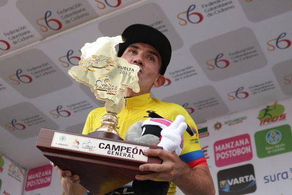 Aristóbulo Cala campeón vuelta a Colombia