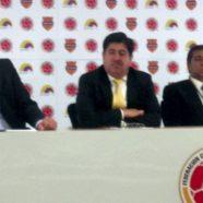 RUEDA DE PRENSA EN LA FEDERACIÓN COLOMBIANA DE FÚTBOL