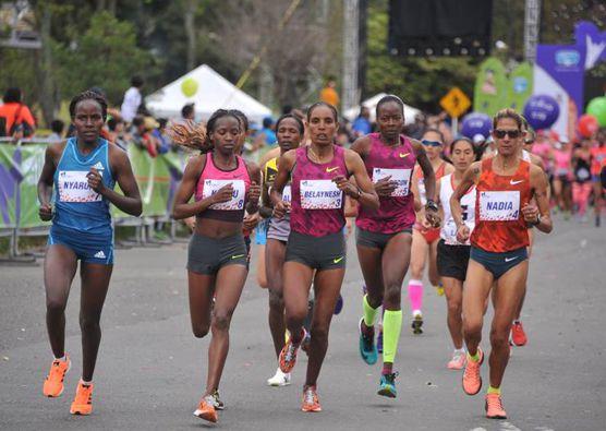 Atletas élite carrera Mujer