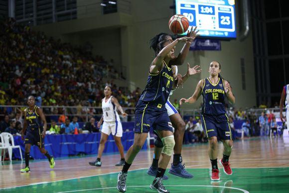 Baloncesto femenino oro en centroamericanos