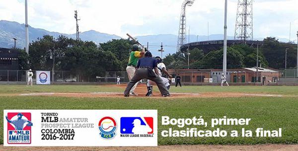 Beisbol Bogotá primer clasificado