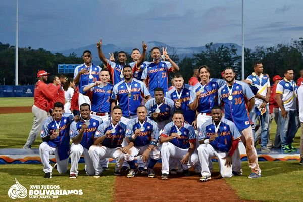 Beisbol Colombia campeon bolivariano