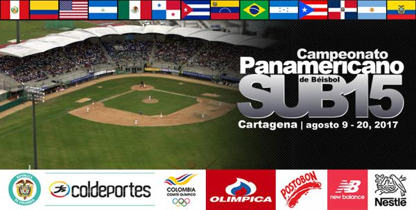 Beisbol Definida preselección Colombia SUB15
