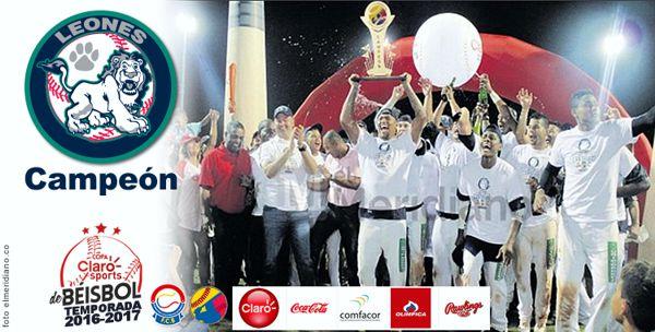 Beisbol Leones Campeon
