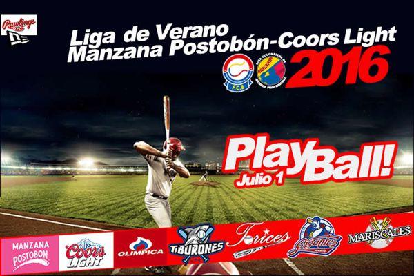 Beisbol Liga de Verano 2016