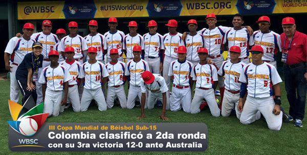 COLOMBIA ENTRE LOS 6 MEJORES DEL MUNDO EN SUB15 DE BÉISBOL