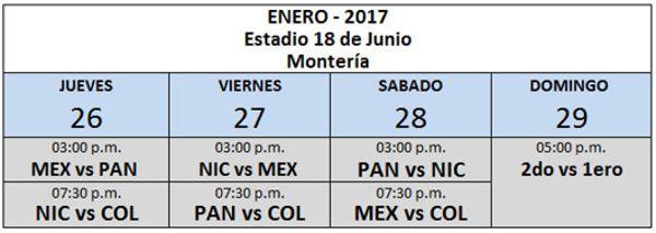 Beisbol Serie Latinoamericana programación