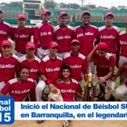 INICIÓ EL IV NACIONAL SUB15 DE BEISBOL EN BARRANQUILLA