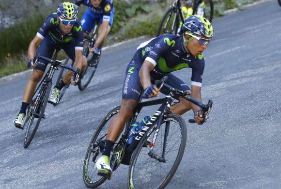 Betancurt, Quintana y Chaves 2 etapa tour