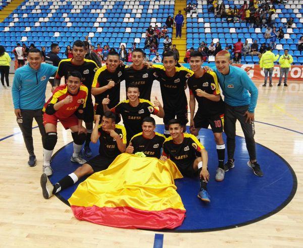 Bogotá con bandera