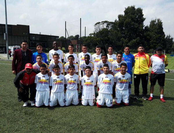 Bogotá goleó a Vichada