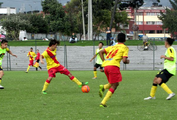 Bogotá vs Nacional de Eléctricos
