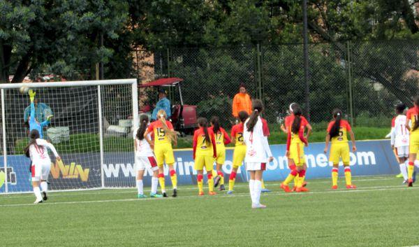 Bogotá vs Valle 2 gol