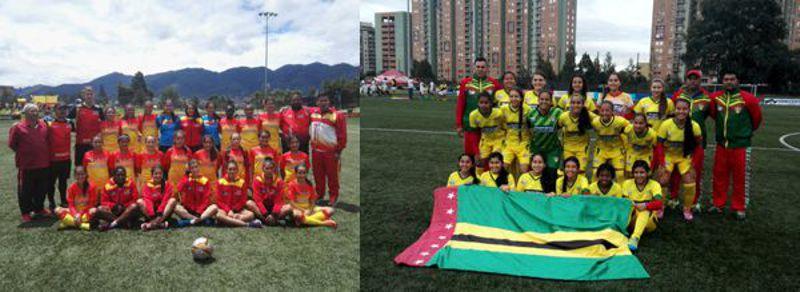 Bogotá y Santander zonal clasificatorio femenino prejuvenil 800