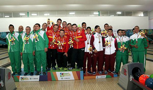 Bogota campeon bowling juegos nales.