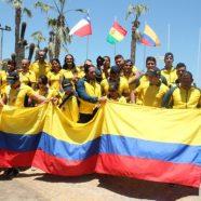 COLOMBIA TERCERO EN III JUEGOS BOLIVARIANOS DE PLAYA, IQUIQUE