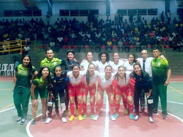 Boyacá campeón futbol de salón femenino juegos 2019