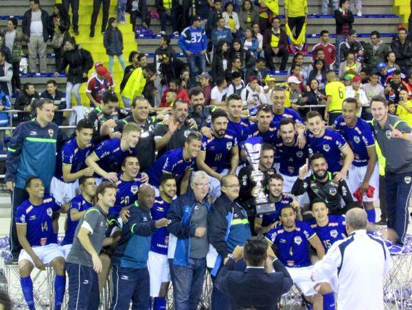 Brasil Campeon Liga suramericana