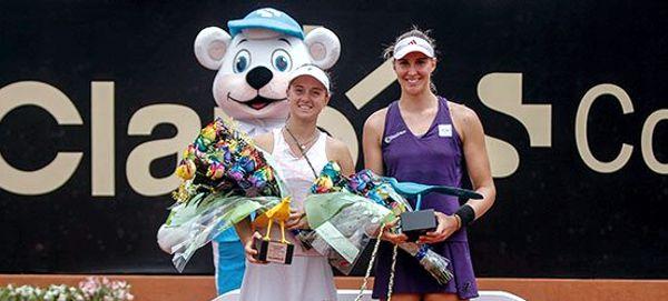 Breatriz Haddad Maia y Nadia Podoroska campeonas dobles claro open