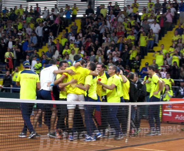 COLOMBIA tiquete a la final de copa davis