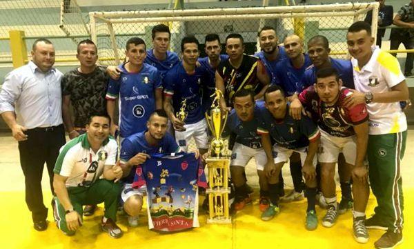 Caciques campeón sudamericano de futsalon zona norte