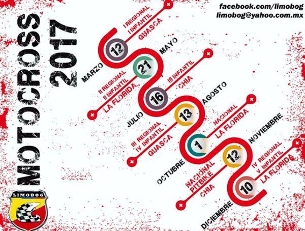 Calendario Motociclismo Motocross