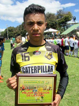 Camilo Beleño, Mejor jugador final
