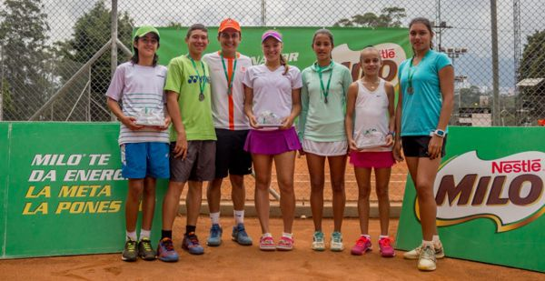 Campeonato Nal Juvenil Tenis Antioquia