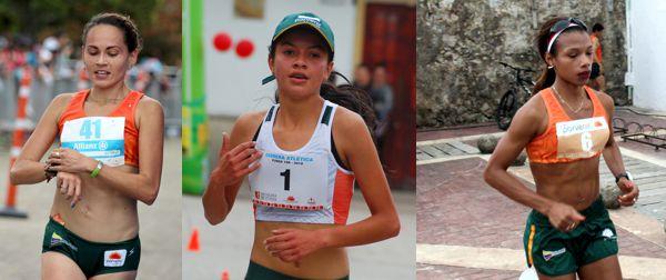 Carolina Tabares, Alejandra Sierra y Muriel Coneo